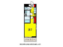 アビタシオン・U[1階]の間取り