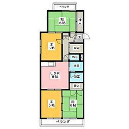 メゾンプルミエ[2階]の間取り