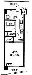 東京都板橋区前野町3丁目の賃貸マンションの間取り
