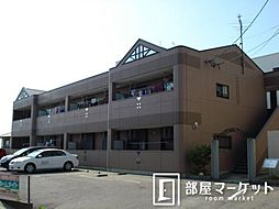 愛知県豊田市若林東町棚田の賃貸アパートの外観