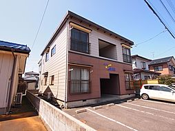 新潟県新発田市東新町1丁目の賃貸アパートの外観