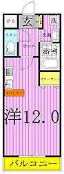 モアルヤタ藤[302号室]の間取り