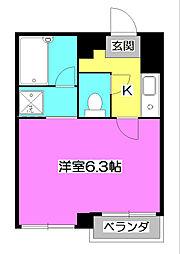 PAPER MUSEUM[3階]の間取り