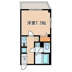 千葉県浦安市猫実5丁目の賃貸マンションの間取り