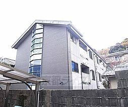京都府京都市左京区吉田上大路町の賃貸アパートの外観