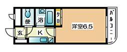 PLEAST田島[3階]の間取り