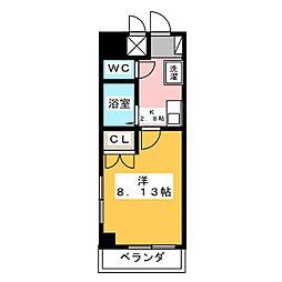 サンハイツドリーム[5階]の間取り