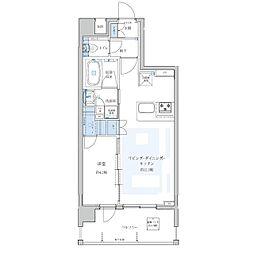 Portside Urban Residence[701号室]の間取り