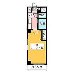 パルフローラ[2階]の間取り