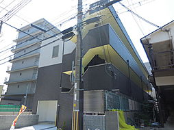 兵庫県尼崎市杭瀬南新町4丁目の賃貸マンションの外観