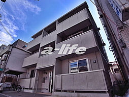 兵庫県神戸市中央区神若通5丁目の賃貸アパートの外観