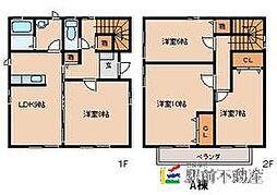 [一戸建] 福岡県久留米市合川町 の賃貸【/】の間取り