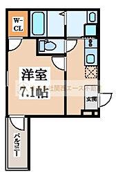 フジパレス堺梅北3番館[3階]の間取り