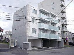 北海道札幌市東区北十一条東12丁目の賃貸マンションの外観