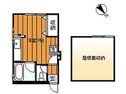 神奈川県鎌倉市雪ノ下1丁目の賃貸アパートの間取り