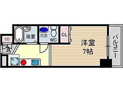 UEDA BUILDING[2階]の間取り