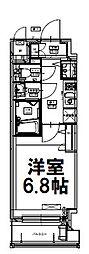 アクアプレイス福島EYE [10階]の間取り