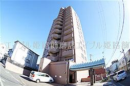 兵庫県姫路市飾磨区東堀の賃貸マンションの外観