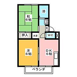 アーバン東蔵前[2階]の間取り