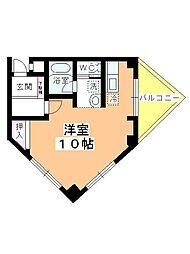 新井ビル[405号室]の間取り
