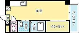寿山ビル[506号室]の間取り