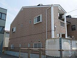 福岡県福岡市博多区博多駅南4の賃貸アパートの外観