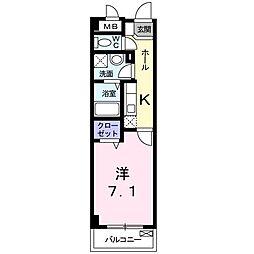 フェリーチェ宮崎台[0202号室]の間取り