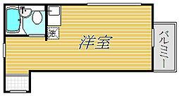 イルビラージュ蒲田[3階]の間取り