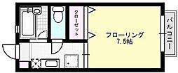 ハイツキムラB[108号室]の間取り