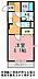 間取り,1K,面積29.81m2,賃料4.7万円,JR常磐線 水戸駅 バス20分 徒歩5分,,茨城県水戸市元吉田町1776番地