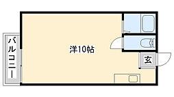 キタノビル[202号室]の間取り