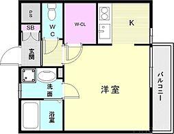 須磨寺駅 5.4万円