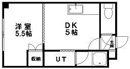 ドマーニ16[203号室]の間取り