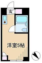 ウエストインパート18[1階]の間取り