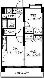 ラ・フェリーチェ和白[6階]の間取り