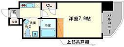 セレニテ高井田[9階]の間取り
