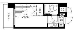 パークノヴァ横浜阪東橋[2階]の間取り