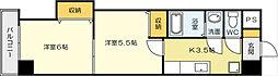 中津口センタービル[11階]の間取り