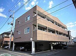 栃木県宇都宮市下戸祭2の賃貸アパートの外観