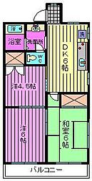 齋藤マンション[2階]の間取り