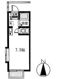 フルハウスII[2F号室]の間取り