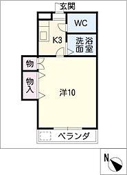 マンションほうれん草[2階]の間取り