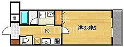 オープンヒルズ[3-E号室号室]の間取り