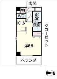 GRACEWING[4階]の間取り