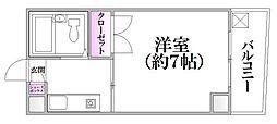 F-style Namiki-dohri[5階]の間取り