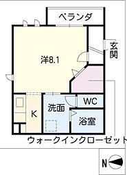 タウンコート清住[3階]の間取り