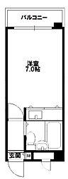 マッセ新大阪ハイツ新館[6階]の間取り