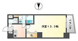 ヴィレッタEBISU東[6階]の間取り