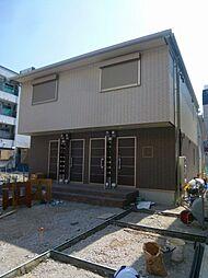 大阪府大阪市住吉区苅田7丁目の賃貸アパートの外観