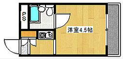 グランシャトー橘[2階]の間取り